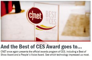 CNET Best of CES promo