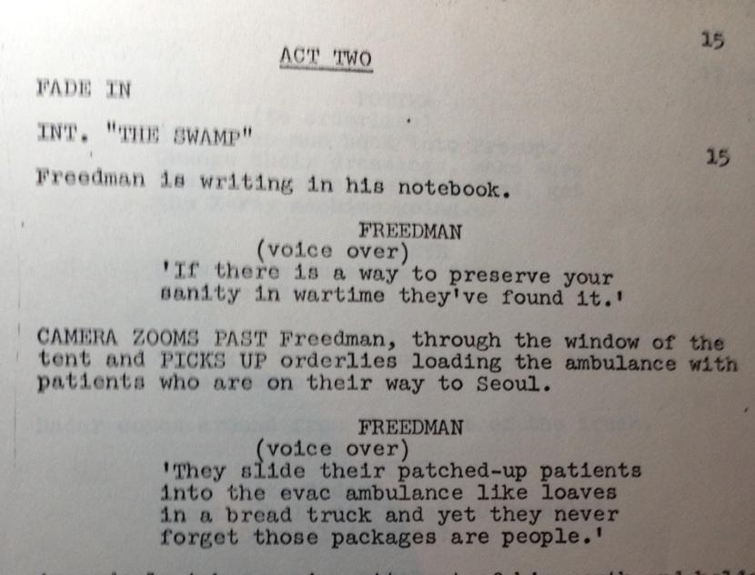 """From """"Dear Sigmund"""" by Alan Alda, 9/3/76"""